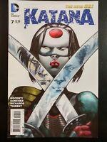 KATANA #7a (2013 The New 52, DC Comics) ~ VF/NM Comic Book