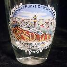 Vintage German Souvenir Beer Tasting Shot Glass Zugspitzgipfel