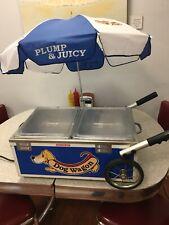 Mini Countertop Hot Dog Steamer Cart Display Nemco Commercial