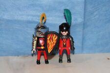 Playmobil 2 Drachen Ritter mit Zubehör, anschauen !