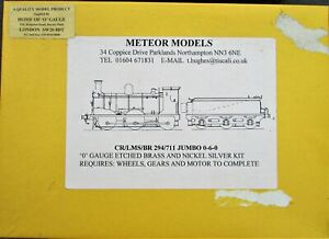 7mm Scale Caledonian Railway/LMS/BR '294/711' Class 0-6-0 Locomotive kit
