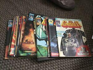 The Punisher Marvel Comics UK 1989 Bundle 21 comics