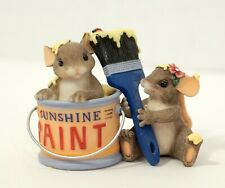 Charming Tails 84/128 We Make A Colorful Pair - Early Introduction Mouse Figure