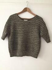 whistles jumper 8, gold, excellent condition, knitted