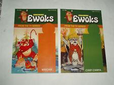 Star Wars EWOKS Weechee & Chief Chirpa Custom Cardback for 2nd Series Figure