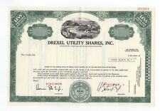 SPECIMEN - Drexel Utility Shares, Inc. Stock Certificate