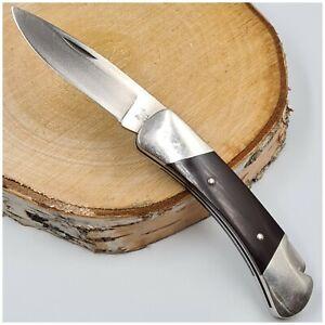 Couteau de poche_BUCK 500 USA_micarta/pompe/109mm fermé-Pocket knife