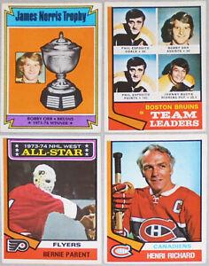 1974-75 -O-Pee-Chee- Vintage OPC NHL Hockey Cards - You Pick/Choose! -Finish Set