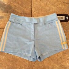 Bnwt Ladies Adidas Shorts Size Uk 8 Argentina Blue/go I Running Gym Excercise