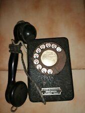 ancien telephone mural ericsson en etat
