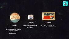 Pepsi-Cola / PepsiCo Abzeichen Brosche Pin ca.1940er-1990er Jahre AUSSUCHEN