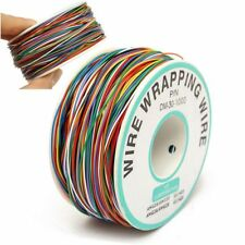 P/N B-30-1000 30AWG Tin Plated Copper 8-Wire Colored Insulation Test Wrapping MY