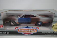 1:18 Ertl 1969 Plymouth 426 Hemi GTX Unrestored Série #1 lmtd.1 de 899 RARE $