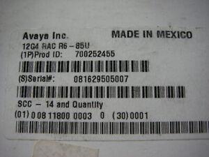 AVAYA Partner ACS R6 upgrade PC Card 700252455 new and backup card