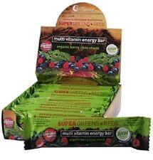 Nutra Organics Super Greens & Reds Bars (Organic Berry Choc Chunk) 45g x 12 pack