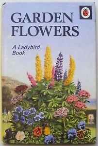 Vintage Ladybird Book – Garden Flowers – Nature Series 536 –Very Good Condition