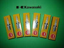Kawasaki Z1300 Set of Six 6 NGK BPR6ES Spark Plugs