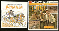 BONANZA Classic NBC TV WESTERN 1971 ViewMaster GAF 3 Reel Packet B 487a
