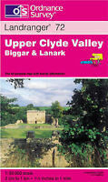 (Good)-Upper Clyde Valley, Biggar and Lanark (Landranger Maps) (Map)-Ordnance Su
