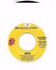 ROLLING STONES * 45 * Angie / Silver Train * 1973 * VG+ * USA ORIGINAL Pressing