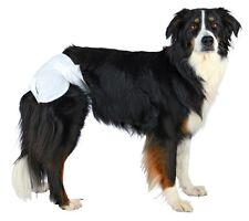 Trixie Dog Diapers Nappies 6 Sizes Dogs in Season & Leaking Single 6 or 12 PK XL - 23636 1
