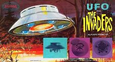Aurora UFO From The Invaders Plastic Model Kit Sticker, Magnet