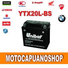 BATERÍA UNIBAT YTX20L-BS MOTO GUZZI California Special 1100 1999 2000