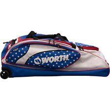 Worth Wheeled Bag WOWHBG-17 RED/WHITE/BLUE, brand new