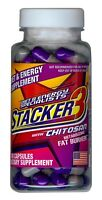 Stacker 3 100ct ephedra free Weight Loss & Energy Dietary Supplement Exp 6/2020