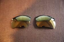 PolarLenz Polarized 24k Gold Replacement Lens for-Oakley Flak Jacket 2.0 XL