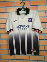 Rangers Jersey 1997 1998 Away Kids Boys 14-16 y Shirt Football Soccer Nike