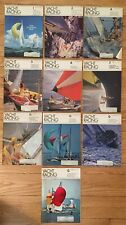 Boat YACHT RACING Magazines 10 Different 1972 Issues All Except March & August