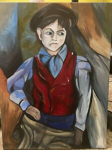 The Paperboy Painting