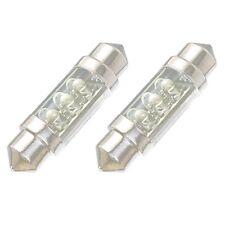 Bombilla LED 12V Blanco 6-LED 1.50 36mm 6418 C5W para Luz de Matricula Coche P7