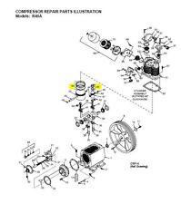 Z9109 Champion Complete Compressor Pump Ring Set Model R40a Air Compressor Parts