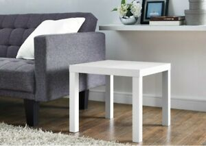 ***Mainstays end table wood white ***