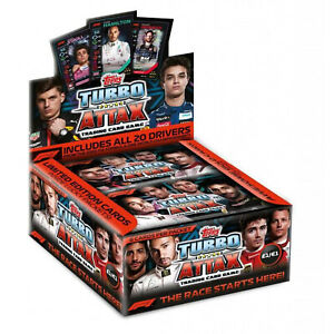 TOPPS - F1 TURBO ATTAX 2020 Edition Trading Card BOOSTER PACK of 6