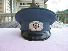Vintage East Germany Military Hat~1856D~S3117/3I