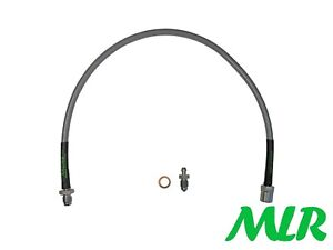 TVR CHIMAERA GRIFFITH STAINLESS STEEL BRAIDED CLUTCH BLEED LINE HOSE PIPE BNI