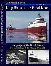 "RARE ""Long Ships Passing"" films Great Lakes S.S. Edmund Fitzgerald S.S. Anderson"