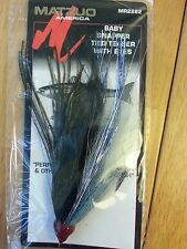 4 MATZUO MR2282 BABY SNAPPER TIED TEASER WITH EYES