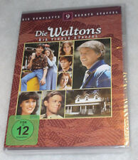 The Waltons Completo Temporada 9 Ninth - DVD Box Set - Nuevo Sellado - REGIÓN 2
