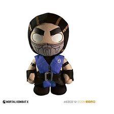 "Mortal Kombat X 10 Sub-zero 8"" Plush Toy Doll Mezco Toys"
