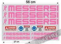 Messersi Stickers Decals Mini tracked dumper Digger Excavator Mini escavatori