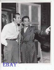 Ricardo Montalban Cantinflas VINTAGE Photo candid