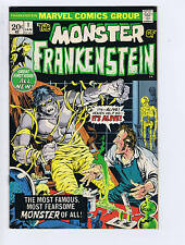 Monster of Frankenstein #1 Marvel 1972