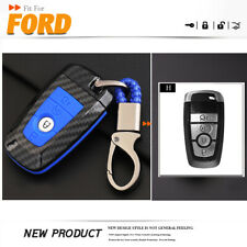 Remote Car Key Case ABS Key Cover Shell keychain Special For Ford Mustang 2018