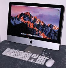 """Apple iMac 21.5"""" Core i5 3.2GHz, 8GB RAM, 120GB SSD, 1TB HDD OS X Sierra"""