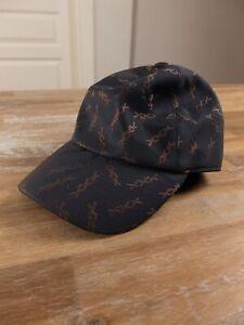 ERMENEGILDO ZEGNA COUTURE XXX gray baseball cap hat authentic Size Medium - NWOT