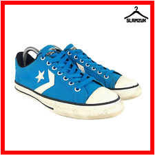 Converse Junior Star Player Paint Blue All Star Low UK 4.5 / 37.5 Sneaker